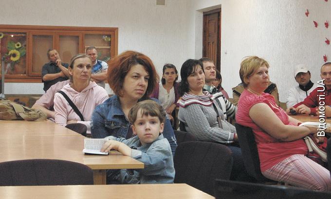Біженка з Донецької області: Тут зовсім інша атмосфера, легше дихається