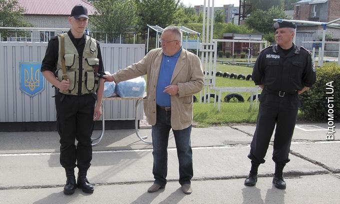 Луцькі нацгвардійці від фонду «Рідна Волинь» отримали нову амуніцію