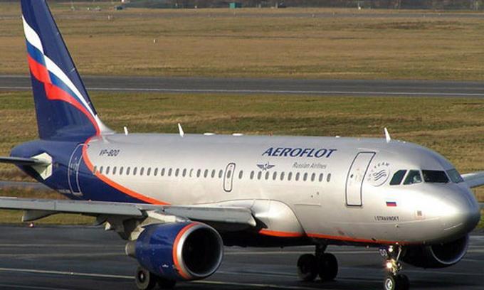 Через санкції акції російського «Аерофлоту» обвалились на 6,5%