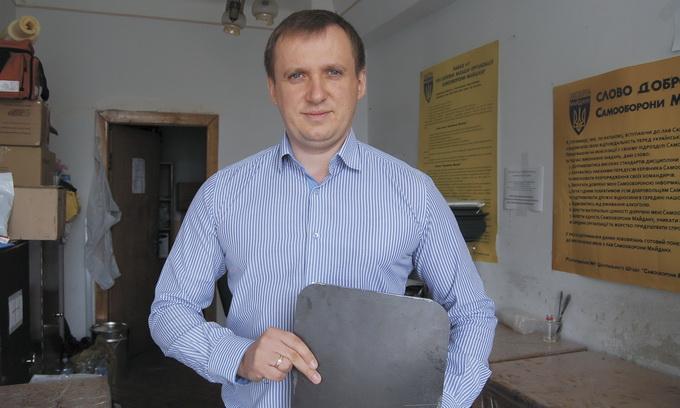 Сергій Чуріков: За останні місяці став експертом в галузі військового спорядження