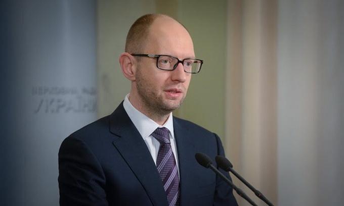 Яценюк: Україна переходить на інші джерела газу, щоб Росія не могла нас шантажувати