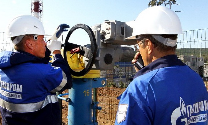 Російський «Газпром» втратив 23% прибутків