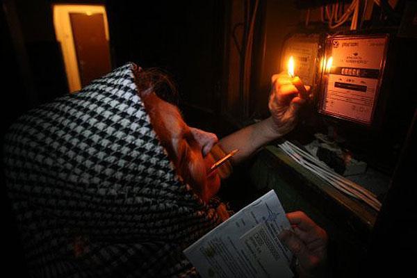 Відключення світла припинять, якщо споживання електроенергії зменшиться на 15%