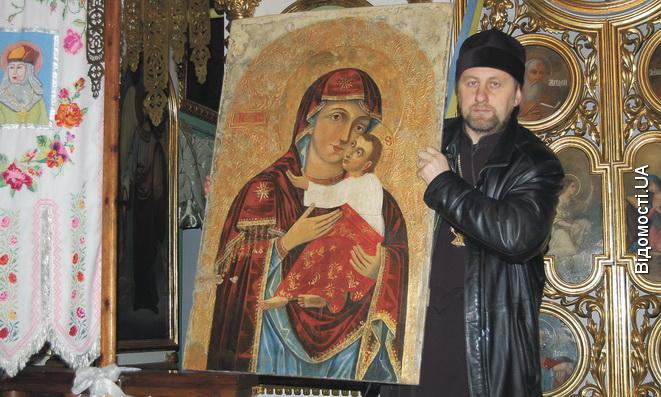 Ікони мироточать, бо Господь кличе людей до покаяння