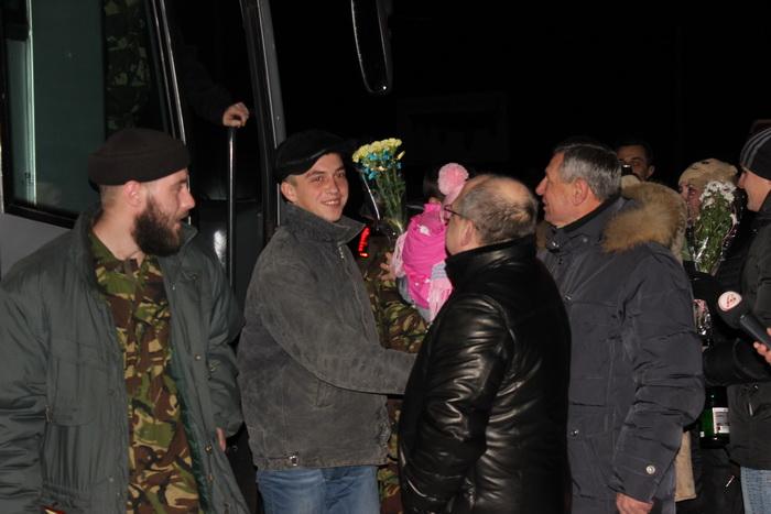 На Волинь повернулися звільнені з полону військовослужбовці колишньої 51-ї окремої механізованої бригади