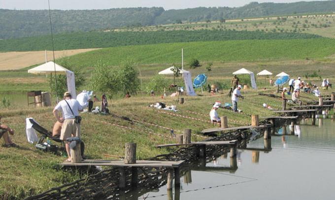 На Волині хочуть проводити міжнародні змагання із риболовного спорту