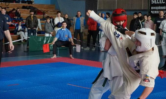 Українські клуби змагалися в Луцьку за звання чемпіона з кіокушинкайкан карате