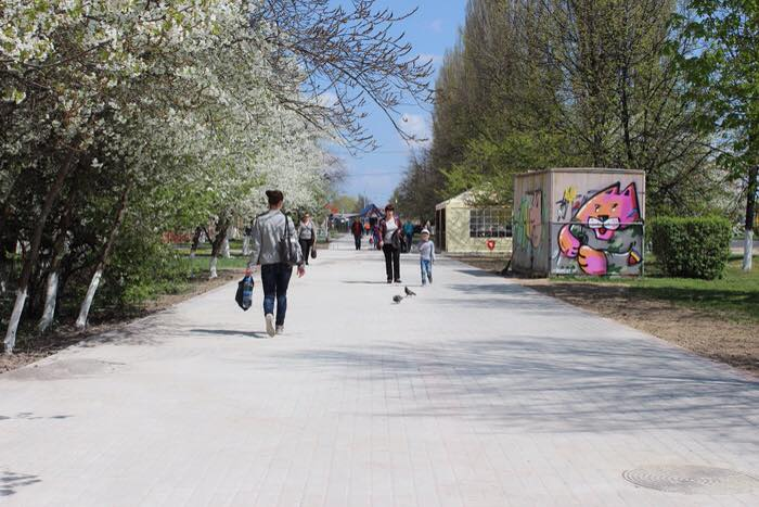 У Луцьку  продовжуються роботи з ремонту дорожнього покриття на вулицях і прибудинкових територіях