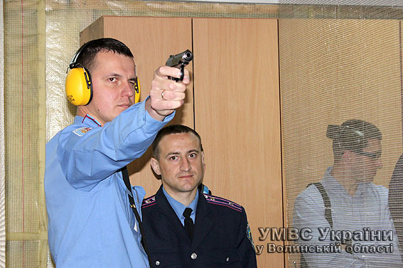 Правоохоронці з Волині повправлялися у стрільбі