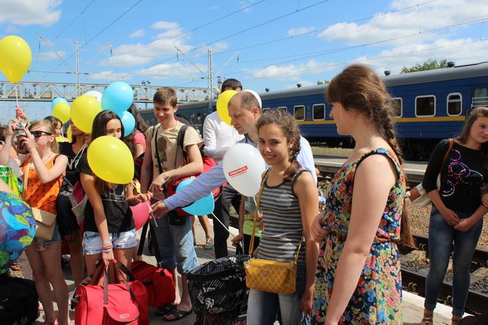 На відпочинок до Луцька прибули 18 дітей з міста Волноваха