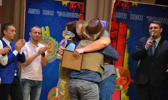 Команда з Каменя-Каширського стала фіналістом Всеукраїнської ліги КВН «Волинь»