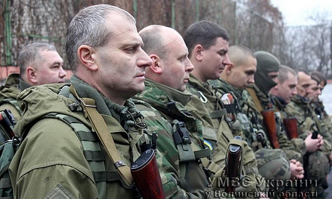 В зону АТО відправилися волиняни зі «Світязя», які пройшли Іловайськ та Вуглегірськ