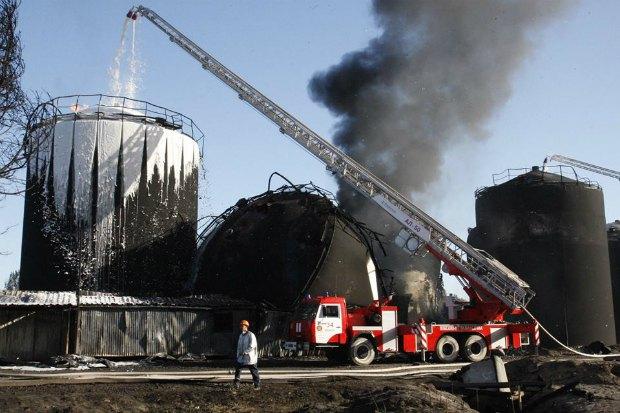 Пожежа на нафтобазі під Васильковом коштувала держави 1,2 млрд гривень