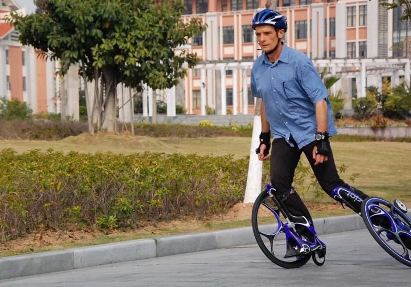 Австралійський дослідник винайшов ролики-колісниці
