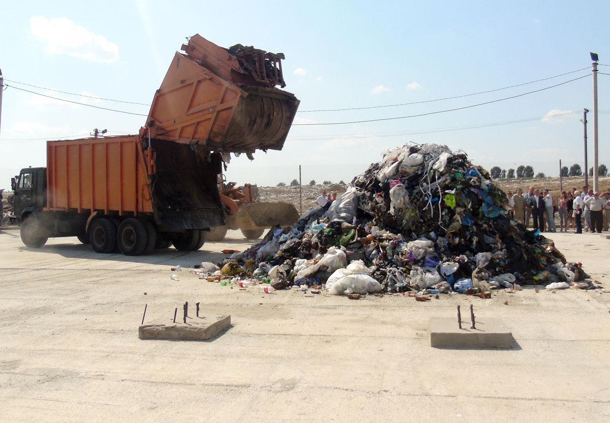 Під Луцьком відкрили новий полігон для захоронення сміття