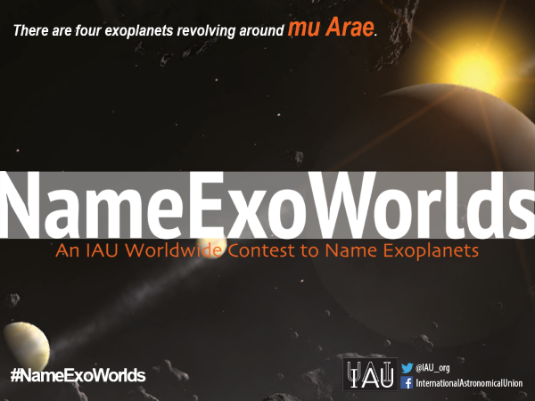 Міжнародний астрономічний союз запрошує всіх охочих допомогти обрати імена для нововідкритих планет