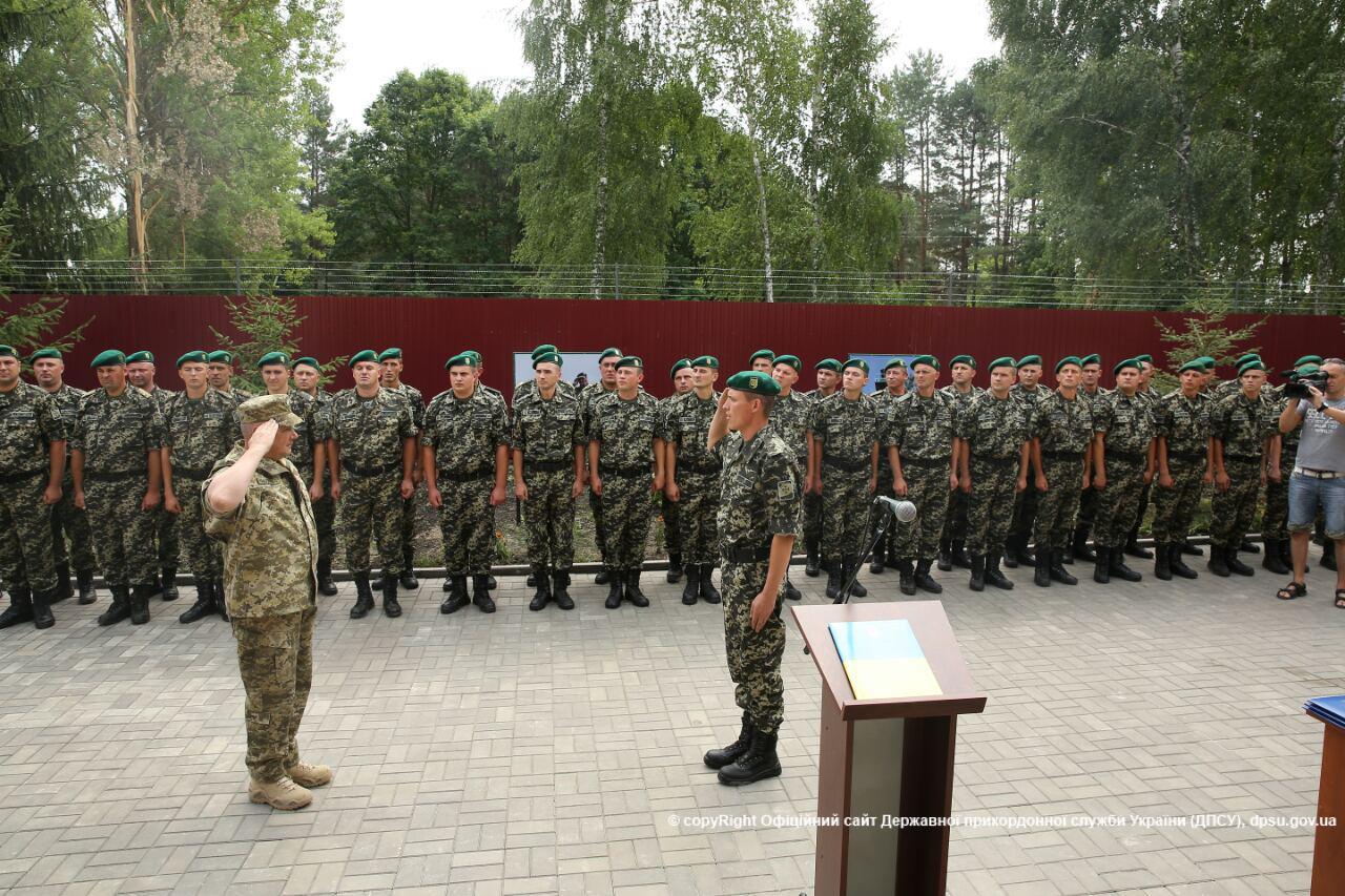 На кордоні з Польщею відкрили оновлений прикордонний підрозділ в селі Грабове