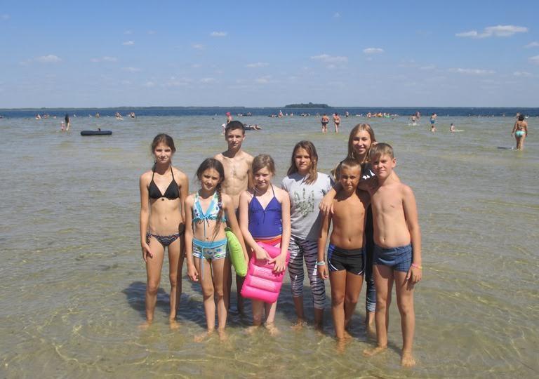 Дітей учасників АТО оздоровили на Світязі