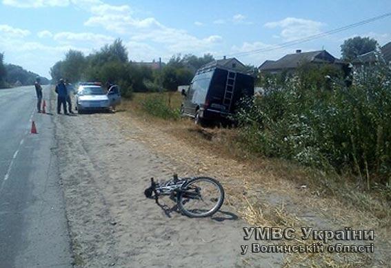 Унаслідок аварій до лікарень потрапили велосипедист і мотоцикліст