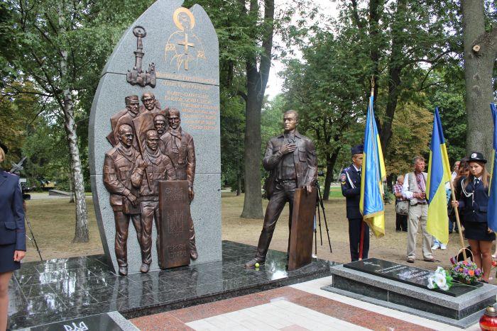 Волинські Герої Небесної Сотні постали в бронзі на Меморіалі Слави