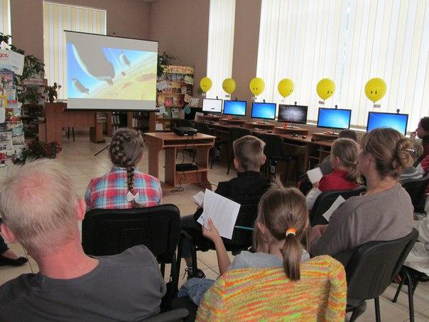 Рожищенська молодь з допомогою кіно вдосконалювала свої знання з іноземної мови