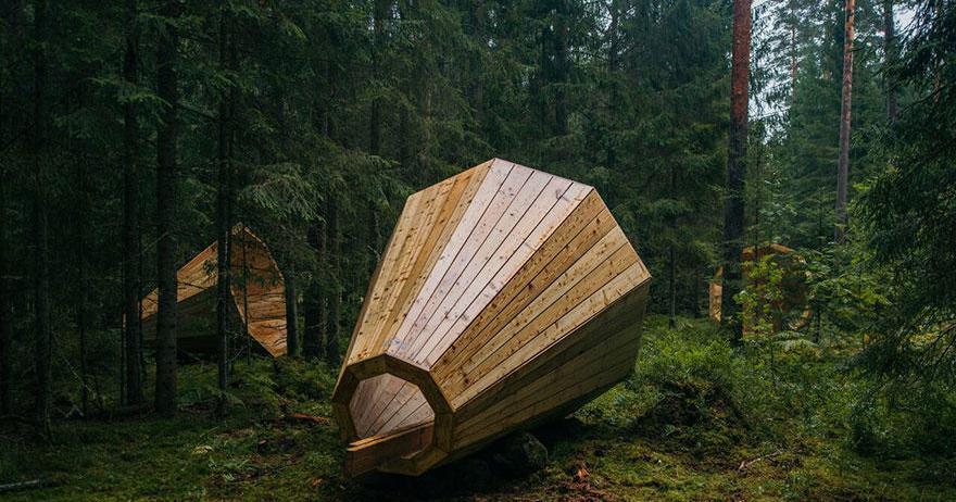 В Естонії змайстрували гігантські лісові гучномовці