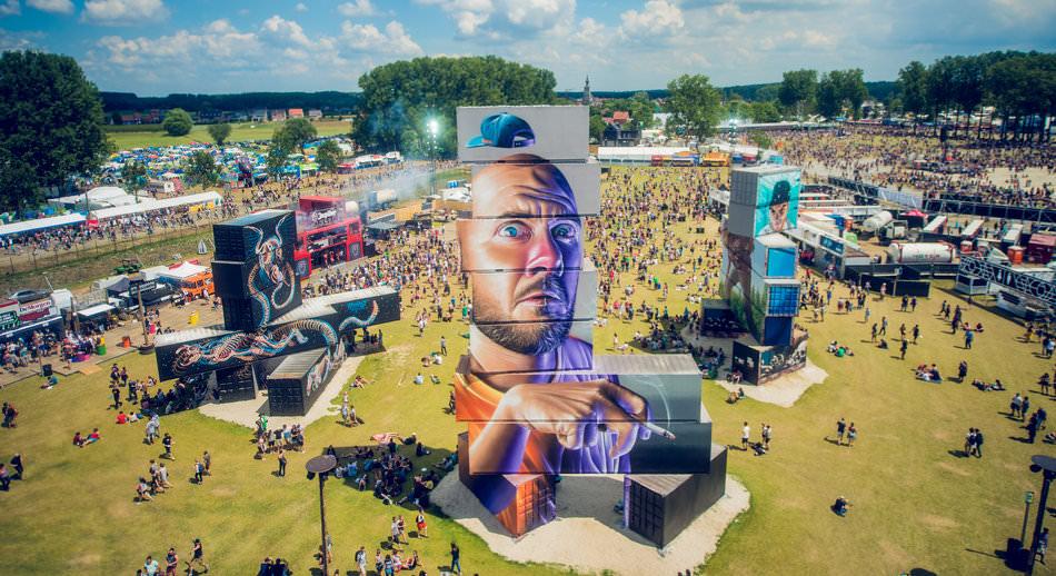 У Бельгії відбувся фестиваль розмальованих промислових контейнерів North West Walls 2015