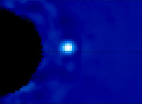 Астрономи зняли рух планети навколо зірки Бета Живописця