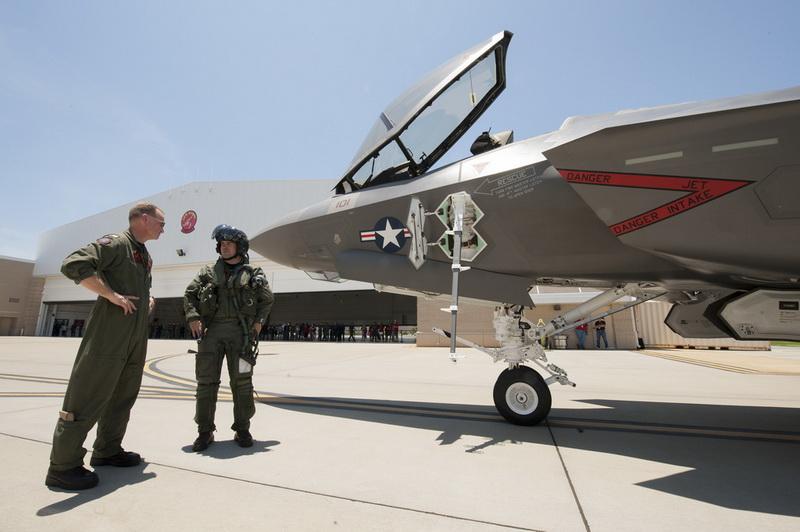 ВПС США заборонили надто легким пілотам літати на винищувачі F-35