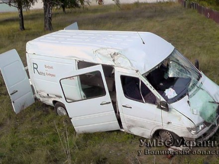 У Ковелі зіткнулися три автівки