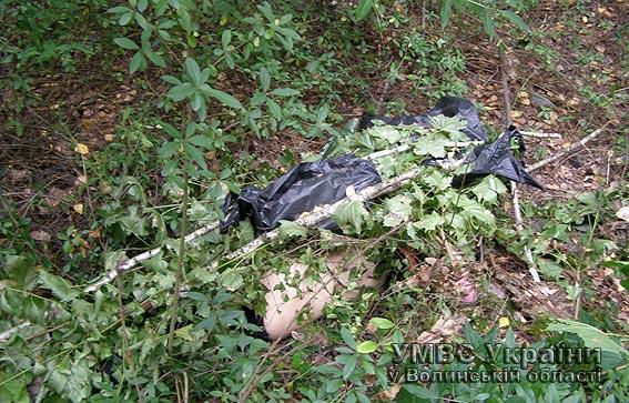 На Волині міліція затримала підозрюваного у вбивстві дівчини