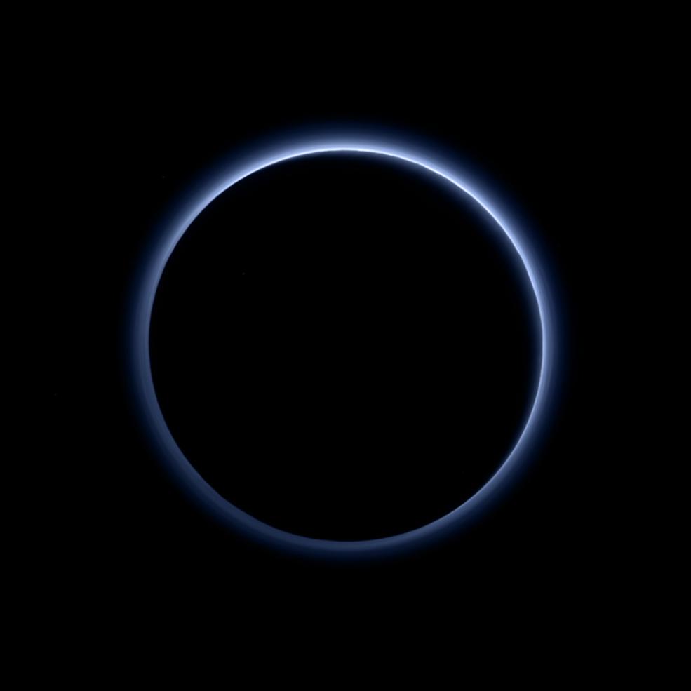 Космічний апарат «Нові Горизонти» знайшов атмосферу та лід на Плутоні