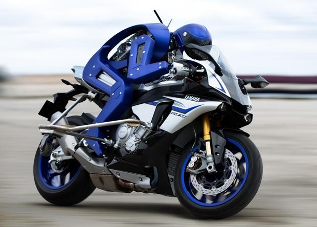 Компанія Yamaha створила робота-мотоцикліста
