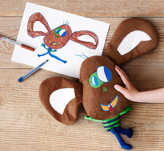 ІКЕА випустить м'які іграшки, створені на основі дитячих малюнків