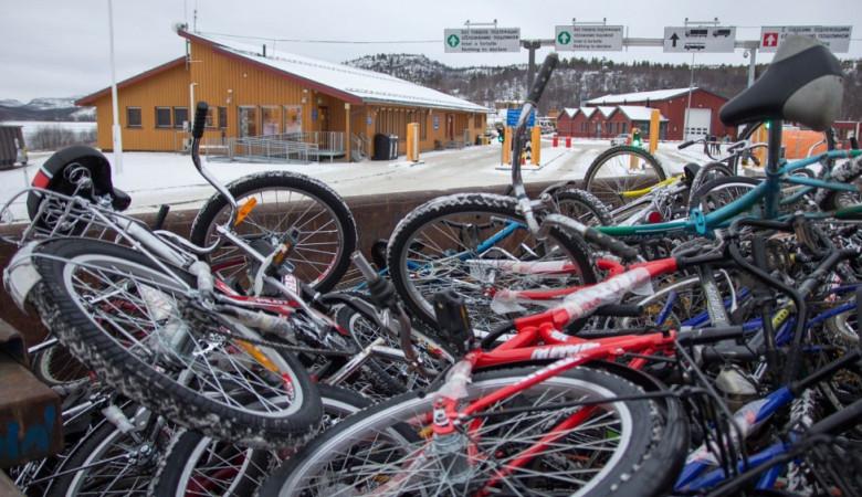 З Норвегії в Росію можуть повернути 42 тонни велосипедів, на яких перетинали кордон біженці
