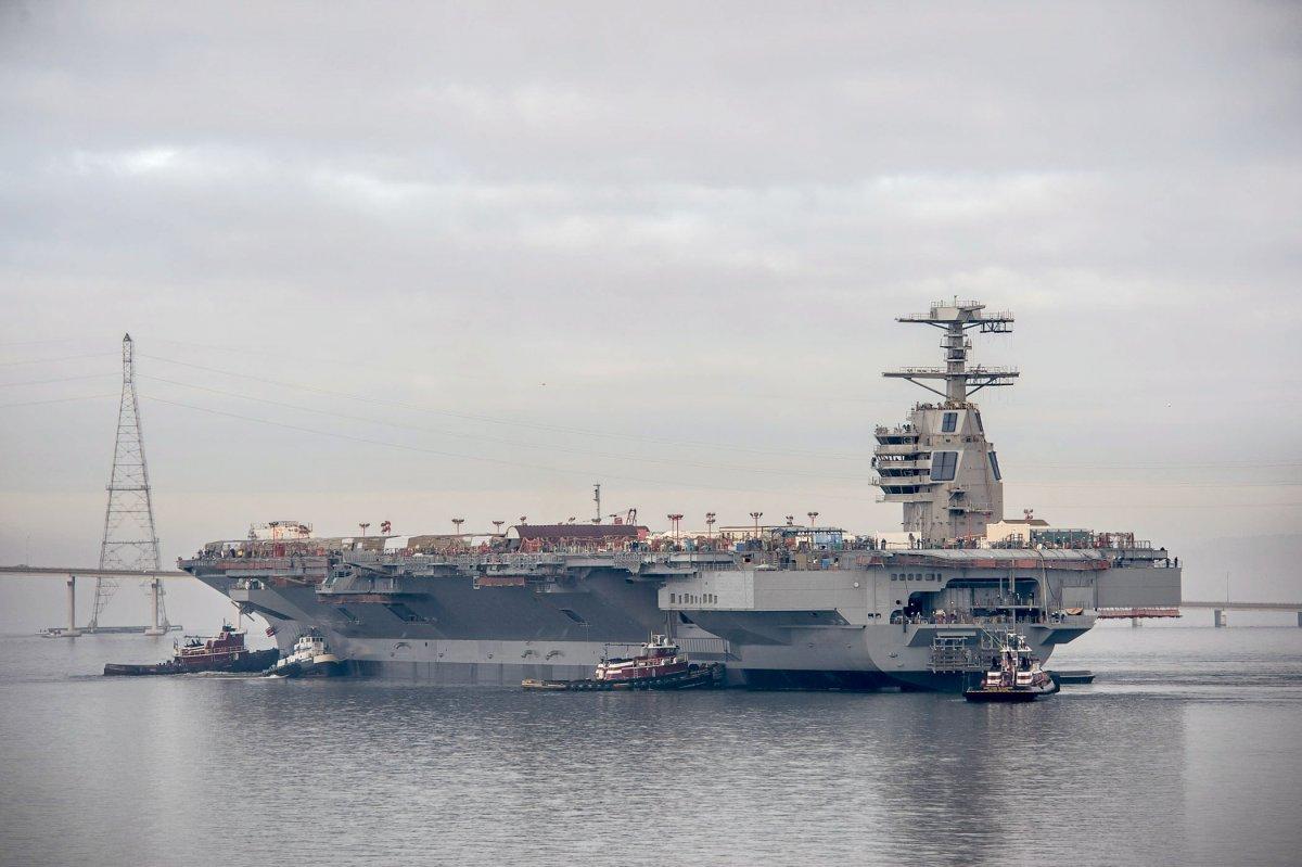 На початку 2016 ВМС США отримають новий авіаносець вартістю 13 млрд доларів