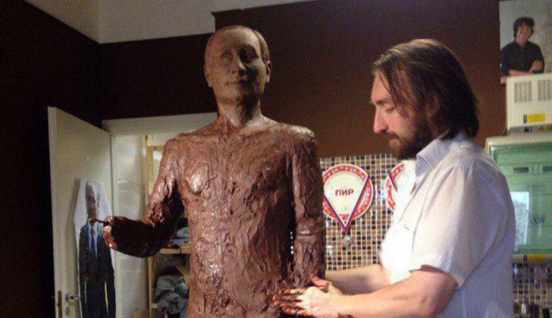 У Санкт-Петербурзі покажуть шоколадного Путіна в повний зріст