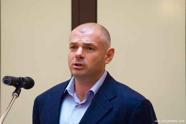 Ігоря Палицю обрали головою Волинської обласної ради
