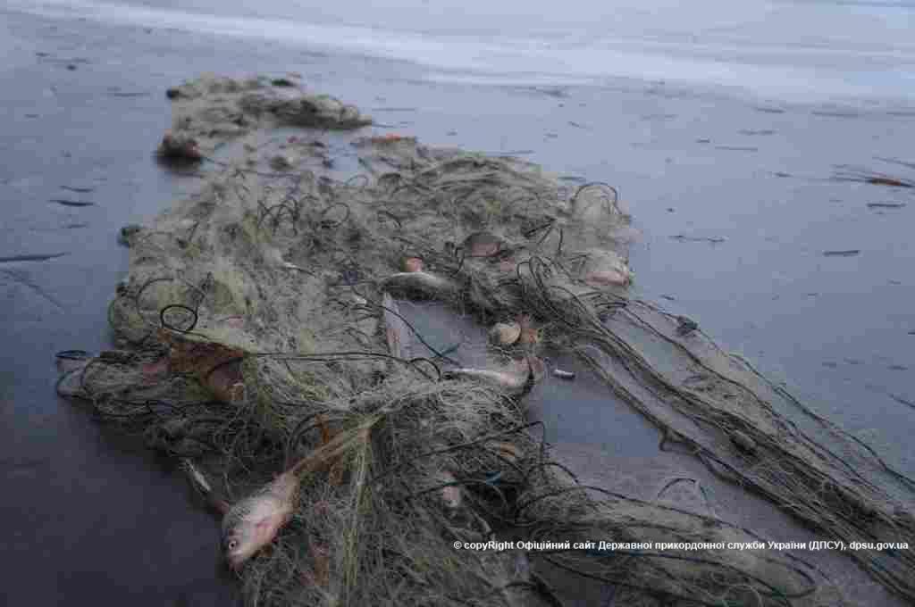 Прикордонники затримали громадян, які займались незаконно рибним промислом