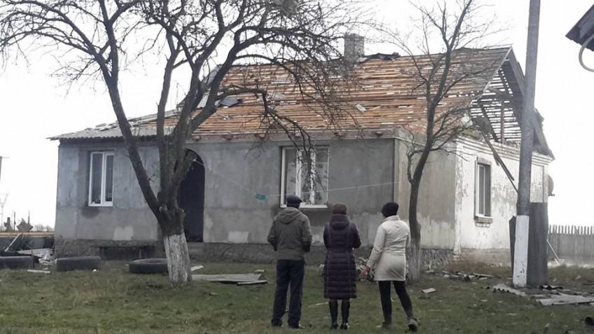 Селу, яке постраждало від буревію, просять гроші на ремонти