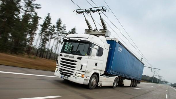 У Швеції з'явиться електрифікована дорога для вантажного транспорту