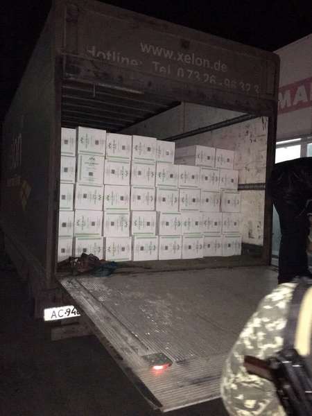 СБУ затримала на Волині контрабандні цигарки на 2,5 мільйона гривень