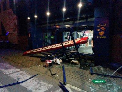 У Воронежі затримали водія, який проїхав на автомобілі крізь гіпермаркет