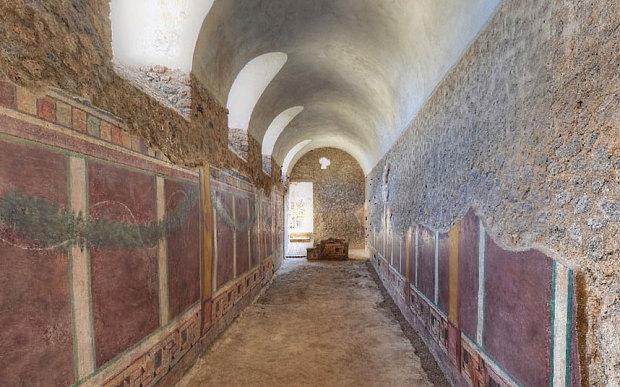 У Помпеях після реставрації відкрили шість будівель