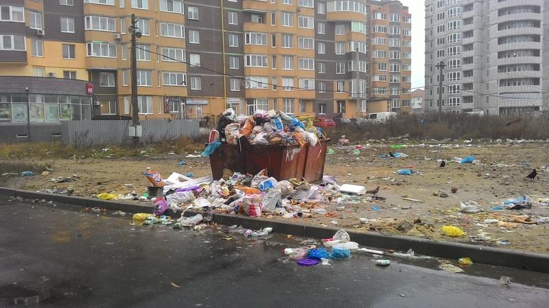У Луцькій міськраді не реагують на запит депутата Шляхтича щодо ліквідації стихійного смітника
