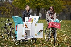 У Торонто працює пересувна велобібліотека