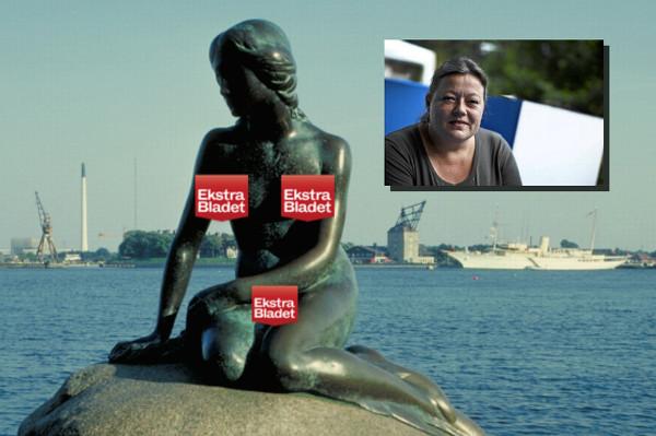 Facebook заблокував фотографію пам'ятника «Русалонька» за «сексуальний підтекст»