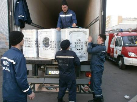 Переселенці зі Сходу отримали чергову благодійну допомогу від польського уряду