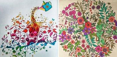 У Китаї книгою-бестселером у 2015 році стала розмальовка для дорослих