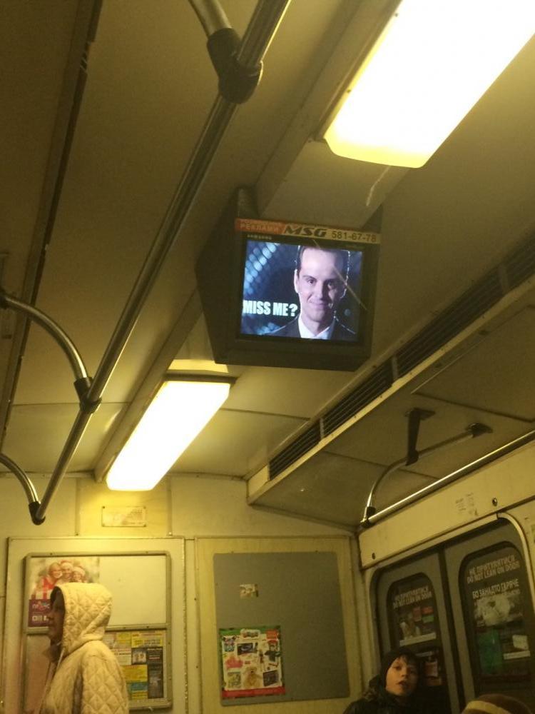 Хакери заламали мережу рекламних моніторів у київському метро